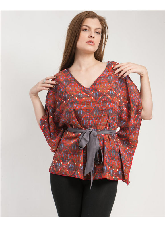 Kimono With Sash Top by alight