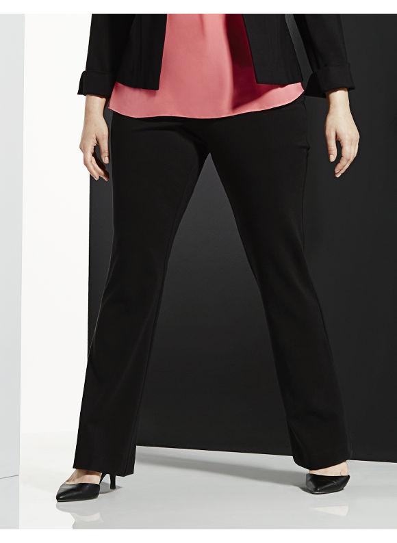 Lane Bryant Plus Size 6th & Lane ponte bootcut trouser Size 12, black - Lane Bryant ~ Trendy Plus Size Clothes