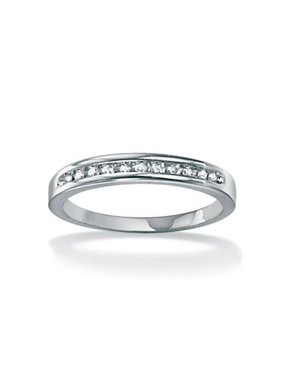Diamond Anniversary White Gold Ring by PalmBeach Jewelry