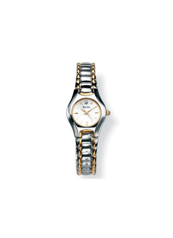 Bulova Silver-Colored Watch 7 by PalmBeach Jewelry