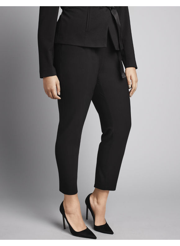 Lane Bryant Plus Size Stretch ponte skinny pant by Isabel Toledo Size 22, black
