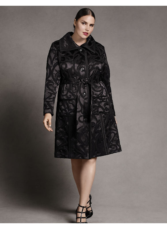 Designer Plus Size Coats | Trench Coats For Plus Size Women Clothing Stores