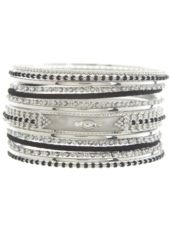 Lane Bryant Women's Beaded bangle bracelet set by - Lane Bryant ~ Trendy Plus Size Clothes