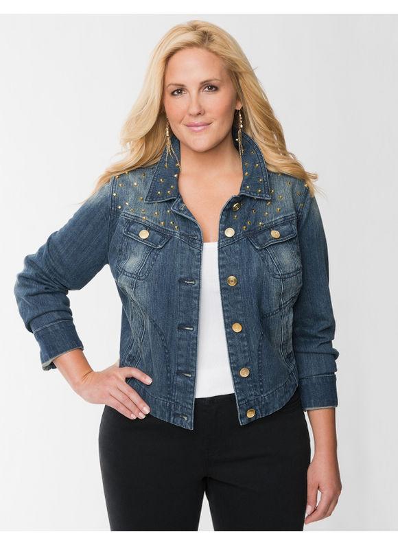 jean jackets for women plus size - jean dev
