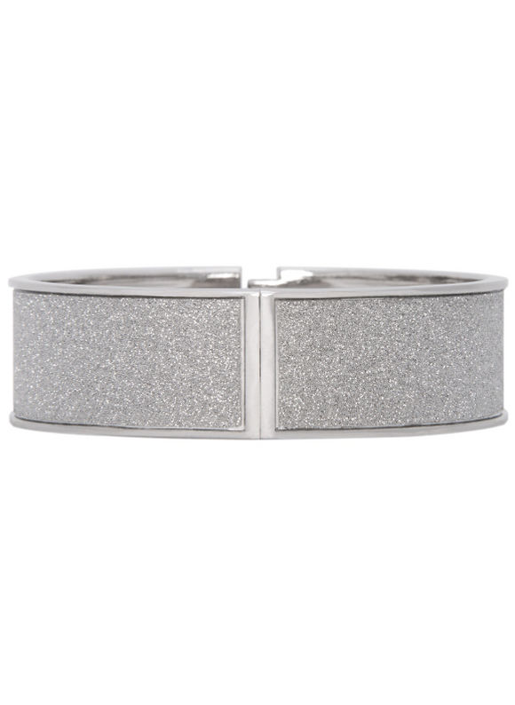 Lane Bryant Women's Silver dust hinge bracelet by -