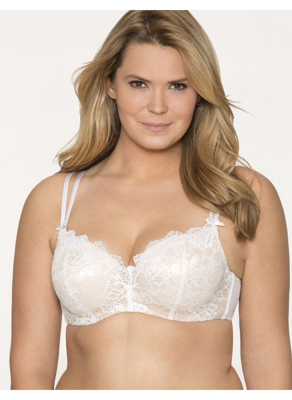 e38fcfd2069 Lane Bryant Plus Size Beautiful bridal balconette bra Womens Size 44D