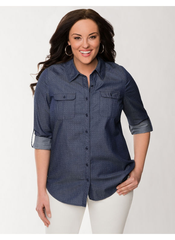 Find great deals on eBay for plus size womens denim shirt. Shop with confidence.