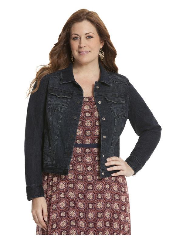 Lane Bryant Plus Size Jean jacket Size 28, blue