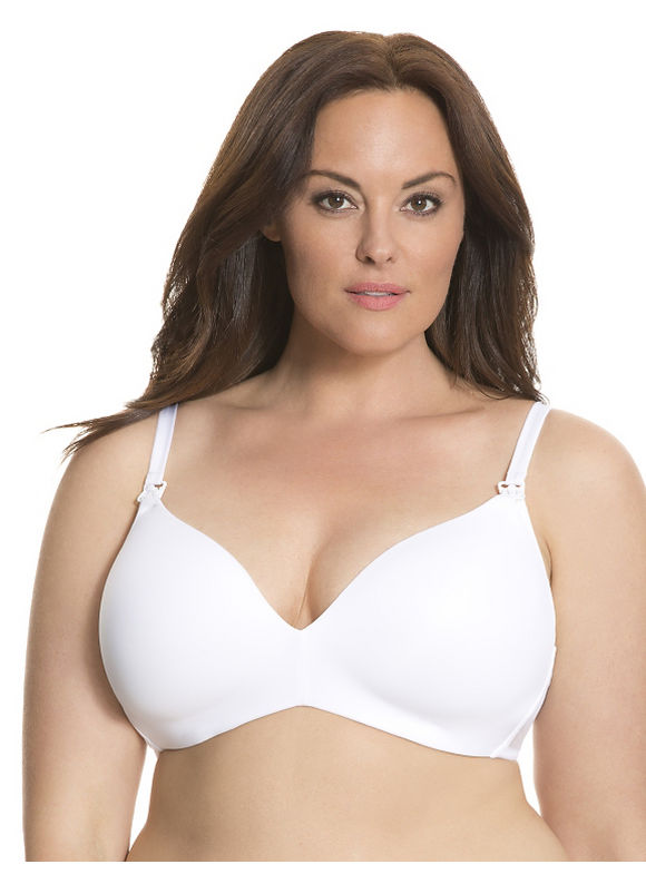 Lane Bryant Plus Size Nursing no-wire bra Size 40DD,38DD,40D, white - Lane Bryant ~ Trendy Plus Size Clothes