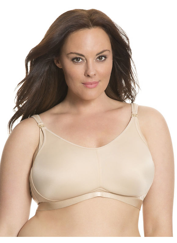 Lane Bryant Plus Size Nursing bra Size 38DD, tan - Lane Bryant ~ Trendy Plus Size Clothes