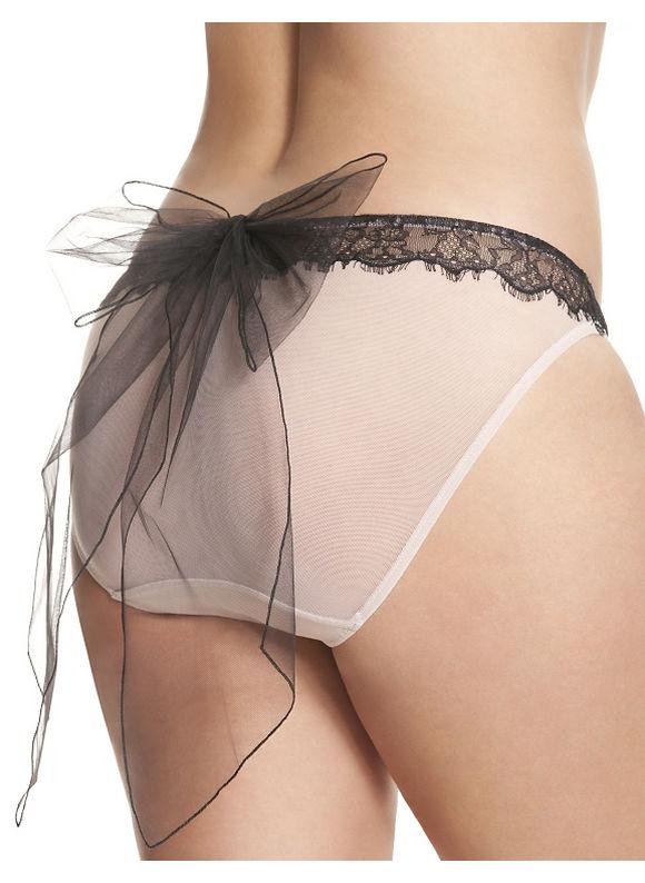 Lane Bryant Plus Size Bow back bikini panty Size 14/16, pink
