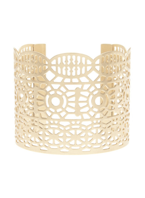 Women's Filigree cuff bracelet by shoes & accessories by Lane Bryant
