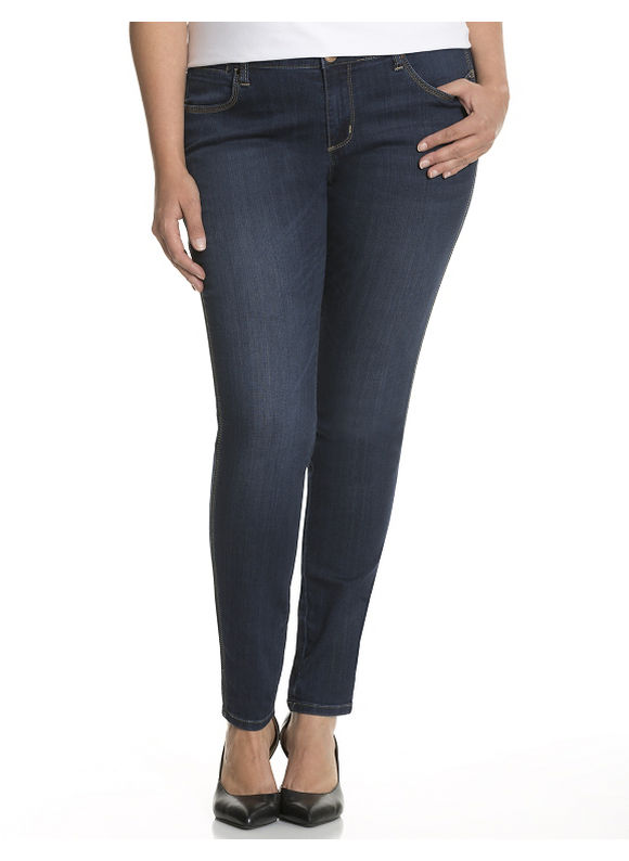 Lane Bryant Plus Size Skinny jean by Seven7 Size 16, blue