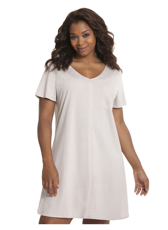 Lane Bryant Plus Size Striped sleep shirt - Stripes