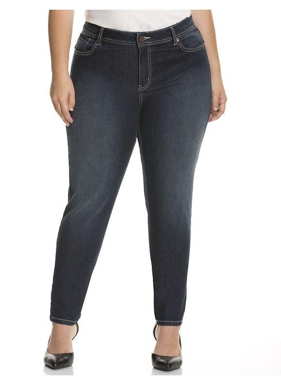 Lane Bryant Plus Size Genius Fit™ skinny jean Size 16, blue