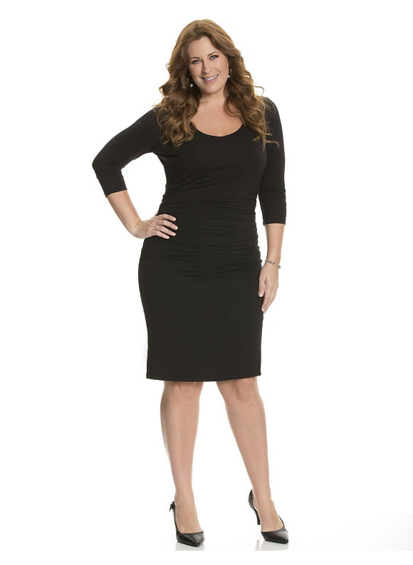 Plus Size Marais dress by Lysse Lane Bryant Women's Size 3X, black - Lane Bryant ~ Trendy Plus Size Clothes