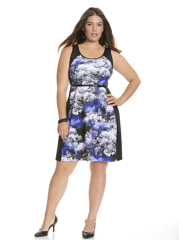 plus size zip dress 6390