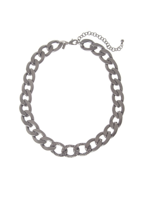 Lane Bryant Women's Status link necklace by -