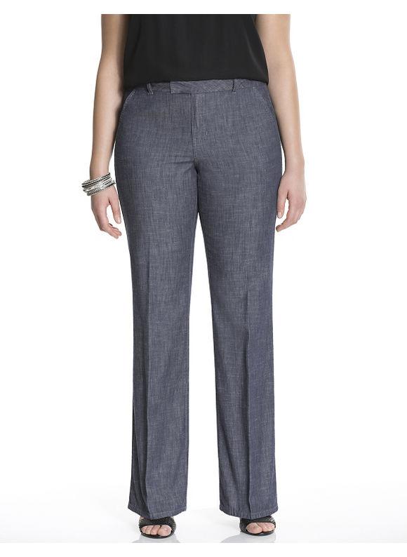 Lane Bryant Plus Size Trouser jean Size 14,16,18,20,22,26, denim blue