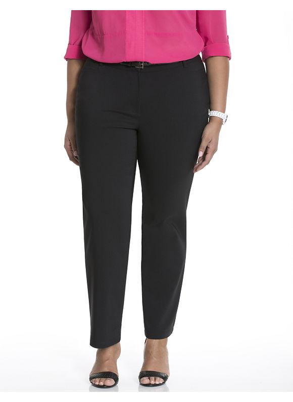Lane Bryant Plus Size Suit pant by Modamix Size 14W, black - Lane Bryant ~ Trendy Plus Size Clothes