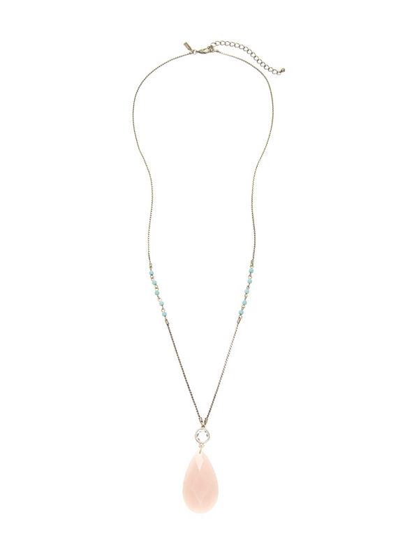 Lane Bryant Women's Stone pendant necklace