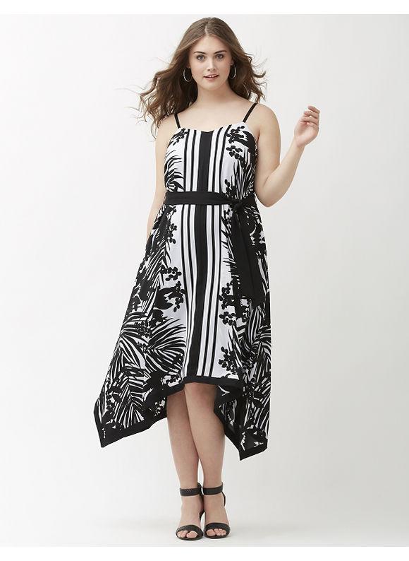 Plus size printed shark bite maxi dress lane bryant women for Lane bryant wedding dress