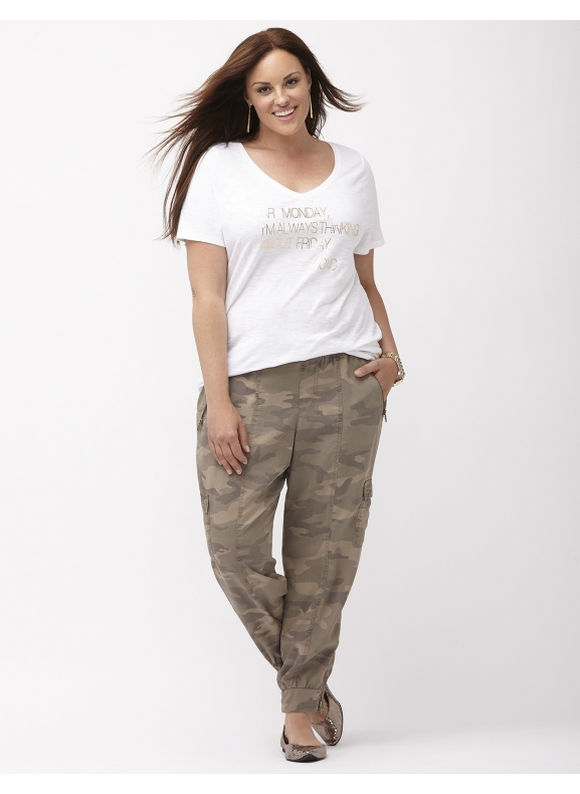 Lane Bryant Plus Size Camo flight pant Size 18/20, Dusty Camo - Lane Bryant ~ Trendy Plus Size Clothes