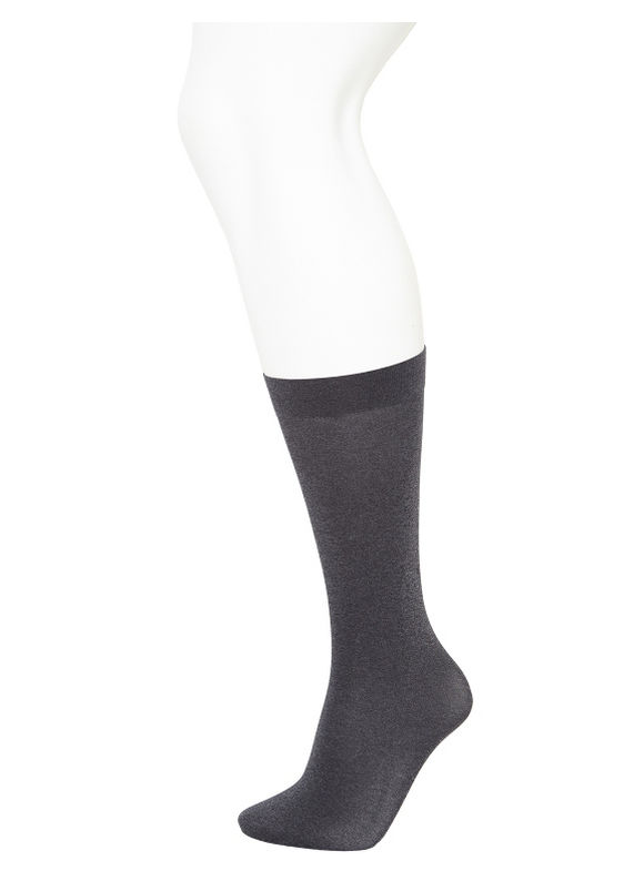 Lane Bryant Trouser socks 2-pack,  Women' Gray/Black plus size,  plus size fashion plus size appare