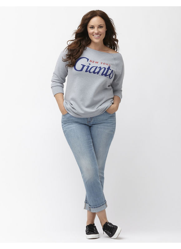 Lane Bryant Plus Size New York Giants sweatshirt Size 14/16,18/20,22/24,26/28, gray