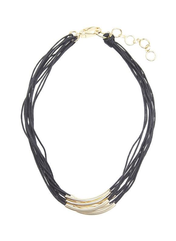 Lane Bryant Women's Rope & hardware necklace