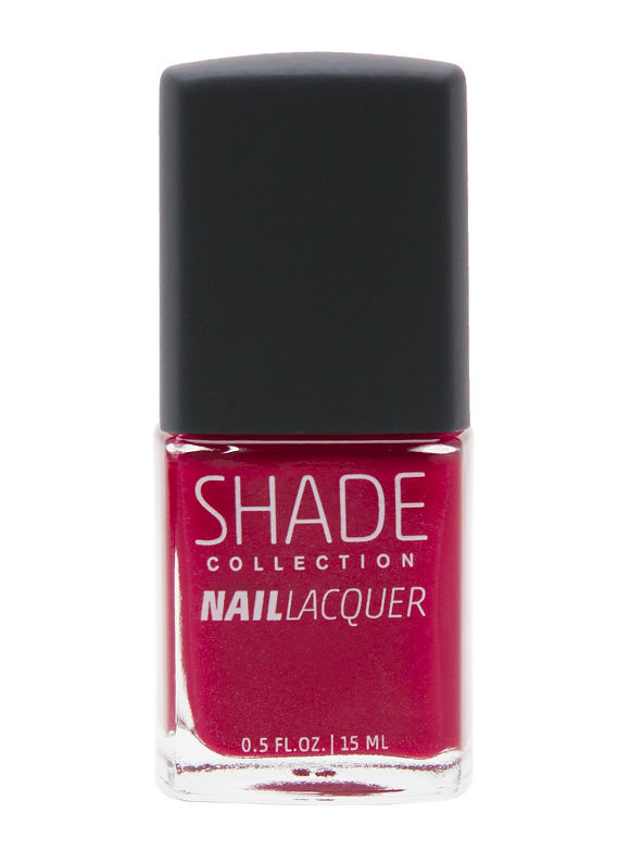 Rich Red Nail Lacquer Polish Image