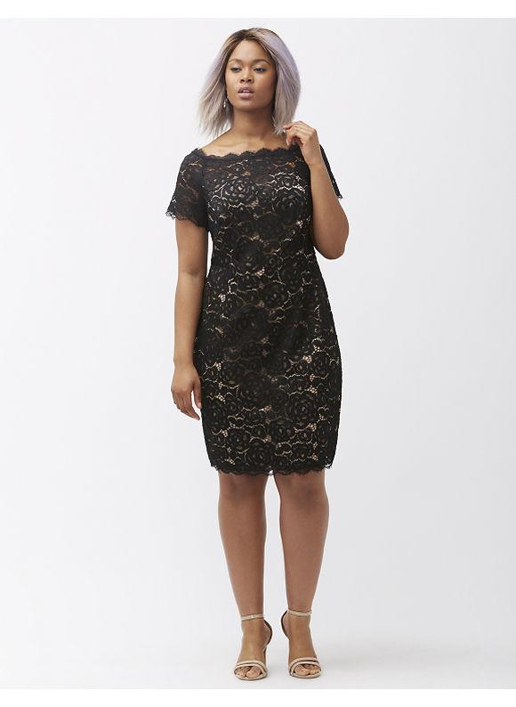 Cheap black dress size 20