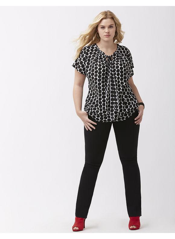 Lane Bryant Plus Size Lena Sexy Stretch bootcut pant, Women's, Size: 18, Black