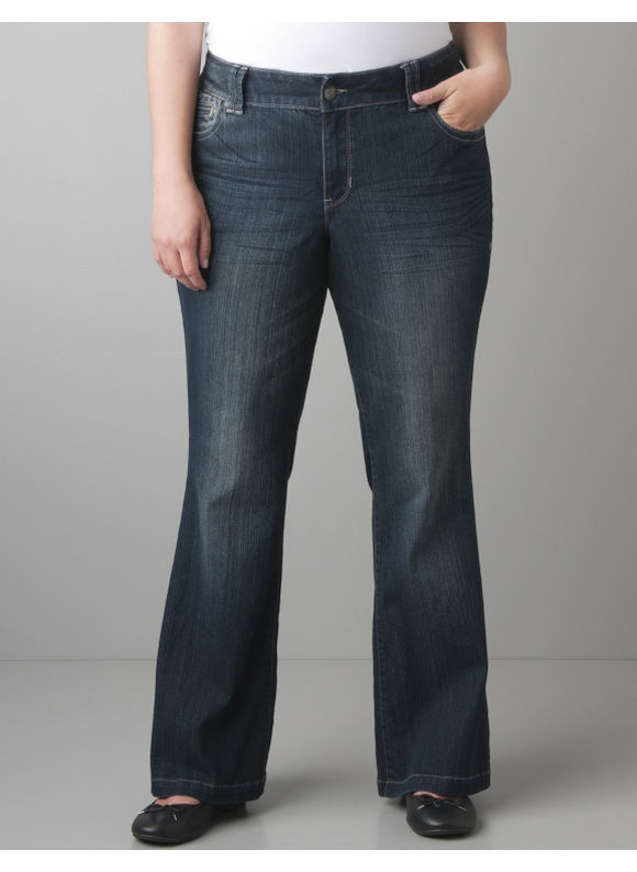 Lane Bryant Lightly Flared jean with Right Fit Technology - Women's