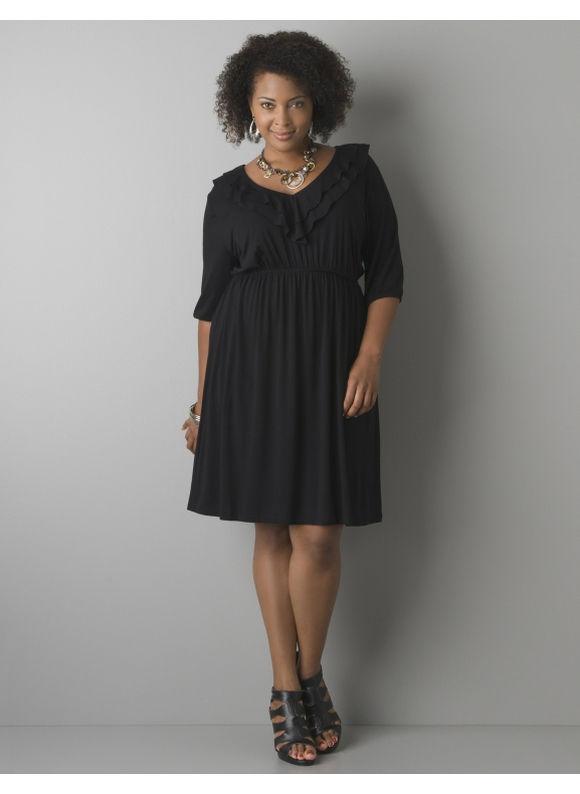 Women'S Plus Size Jersey Knit Dresses 9