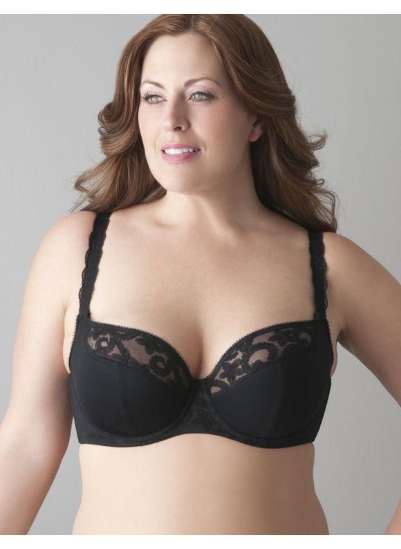 69db7770bda77 Lane Bryant Plus Size Embroidered French full coverage bra Womens Size