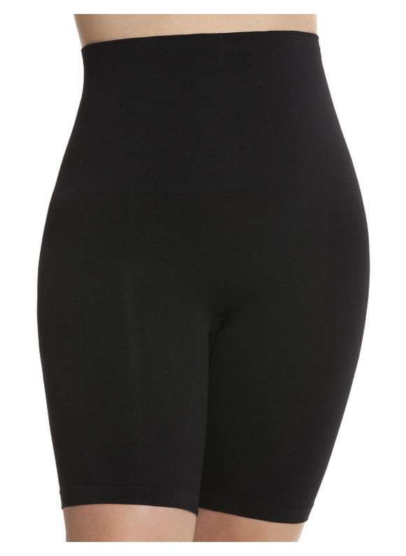 Ladies Apparel - Shape by Cacique Plus Size Seamless shapewear shorts by, Women's, Size: 22/24, Black