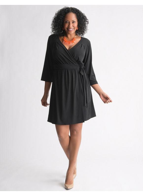 LANE BRYANT  WOMAN/'S EMBELLISHED   BLACK  DRESS  SIZE 14//16
