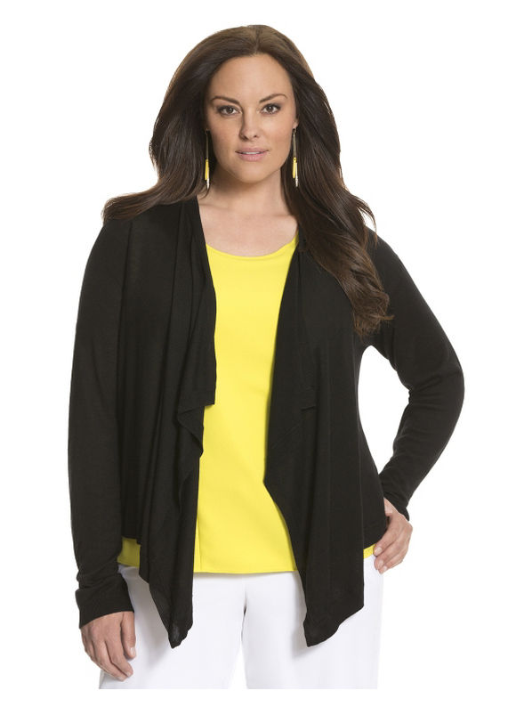 Lane Bryant Plus Size Lane Collection modern shrug Size 18/20, black - Lane Bryant ~ Trendy Plus Size Clothes