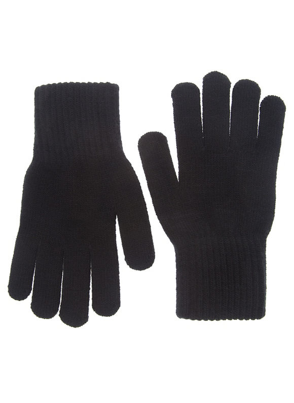 Lane Bryant Plus Size Knit gloves Size One Size, black - Lane Bryant ~ Trendy Plus Size Clothes