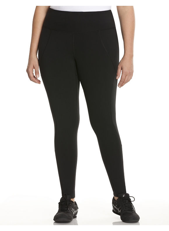 Lane Bryant Plus Size Compression active legging Size 22/24, black - Lane Bryant ~ Trendy Plus Size Clothes