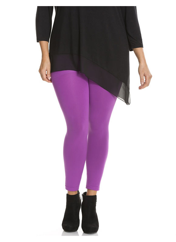 Lane Bryant Plus Size Control Top legging Size E/F, pink