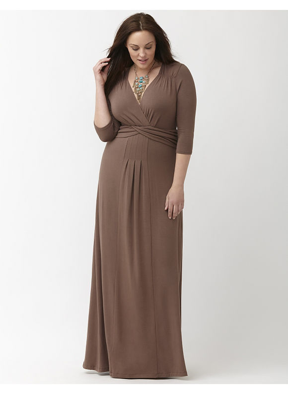 Plus Size Desert Rain maxi dress by Kiyonna Lane Bryant Women's Size 1X, rose black - Lane Bryant ~ Trendy Plus Size Clothes
