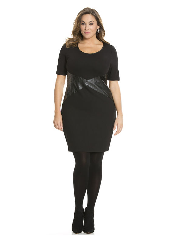 Plus Size Hayden dress by Lysse Lane Bryant Women's Size 1X, black - Lane Bryant ~ Trendy Plus Size Clothes