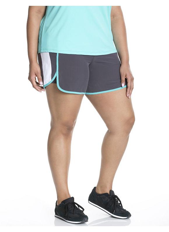 Lane Bryant Plus Size Cooling active short Size 14/16, grey - Lane Bryant ~ Trendy Plus Size Clothes
