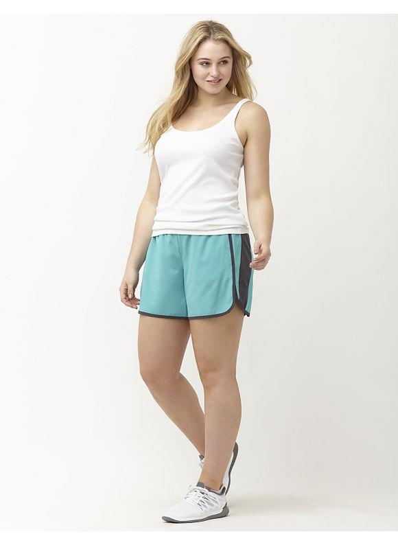 Lane Bryant Plus Size Cooling active short Size 14/16, Black, NINE IRON, Turquoise - Lane Bryant ~ Trendy Plus Size Clothes