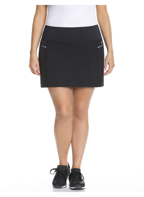 Lane Bryant Plus Size Cooling active skort Size 14/16,18/20,22/24,26/28, Black, Passionfruit Pink