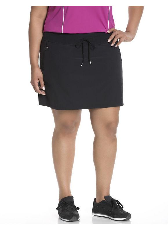 Lane Bryant Plus Size Cooling tennis skort Size 14/16, black - Lane Bryant ~ Trendy Plus Size Clothes
