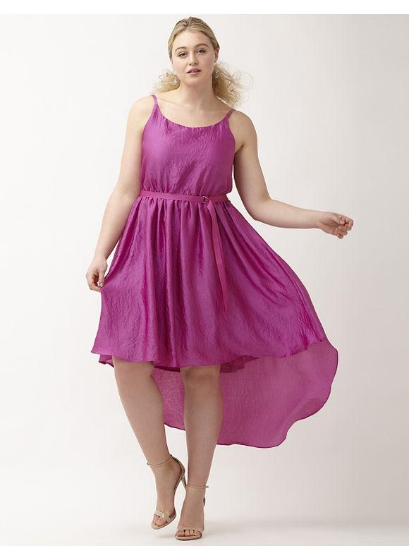 Plus Size 6th & Lane slip dress Lane Bryant Women's Size 12, Orchid
