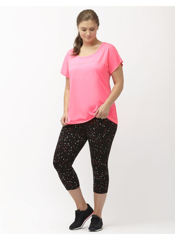 Lane Bryant Plus Size Cooling open back active tee Size 14/16, pink - Lane Bryant ~ Trendy Plus Size Clothes